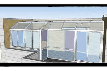 阳光房模拟图