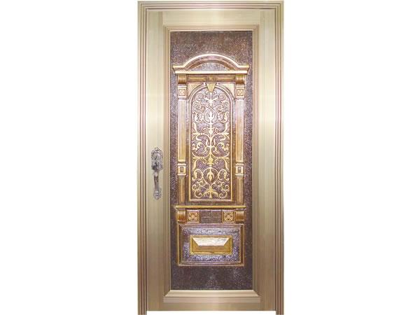 2000型铜雕门-2